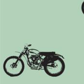 Classic Motocross Bikes Mint Bigger