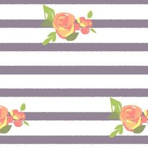 Bouquets and Stripes