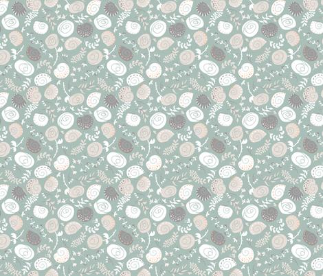 Snail Swirls fabric by katybloss on Spoonflower - custom fabric