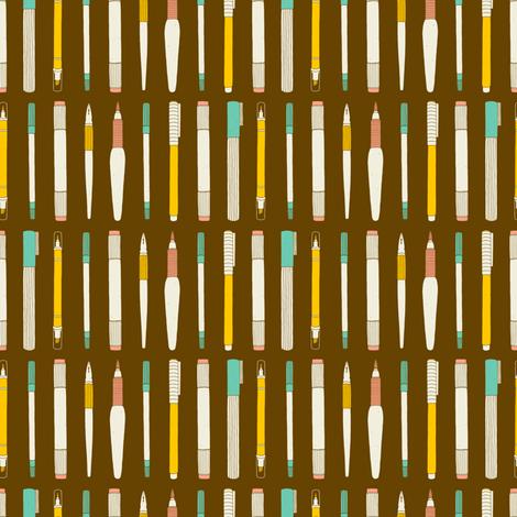 Draw it fabric by rinomonsta on Spoonflower - custom fabric