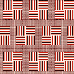 Square on Square Stripes