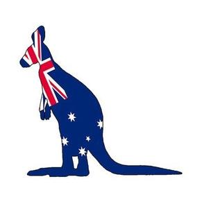 Kangaroo Quilt Square