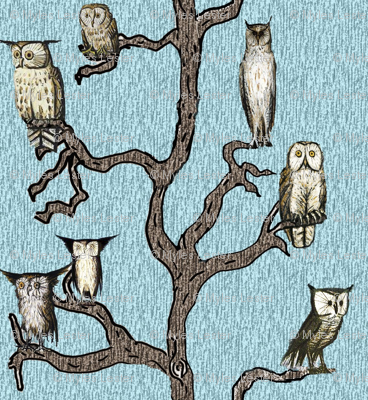 Mid Century Owls