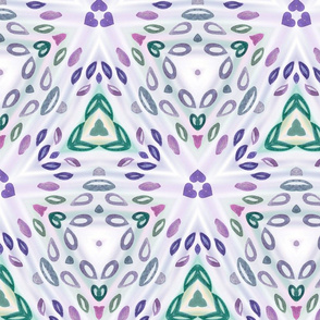 Abstract_flower_Sheet_037_blue and purple