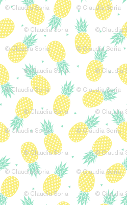 Pineapple - White Background (small)