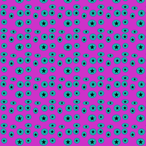 starcircles fabric by remnantsdesignstudio on Spoonflower - custom fabric