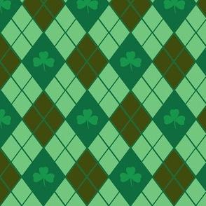 Irish Argyle (Chocolate)