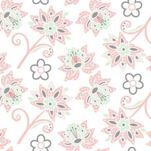 Blushing Floral