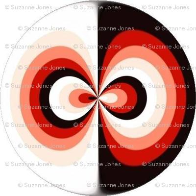 Yin Yang Circular Stripes