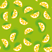 Citrus on Green