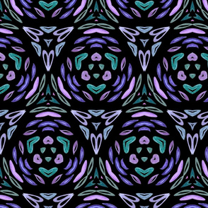 Abstract_flower_Sheet_041_black and purple
