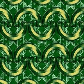 Horseshoes-Yellow-Geo-Green
