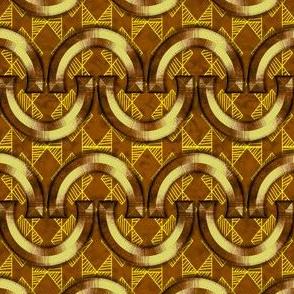 Horseshoes-Yellow-Geo-Brown