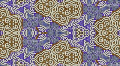 Viking Blue Gingerbread