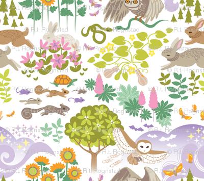 Woodland Rabbits