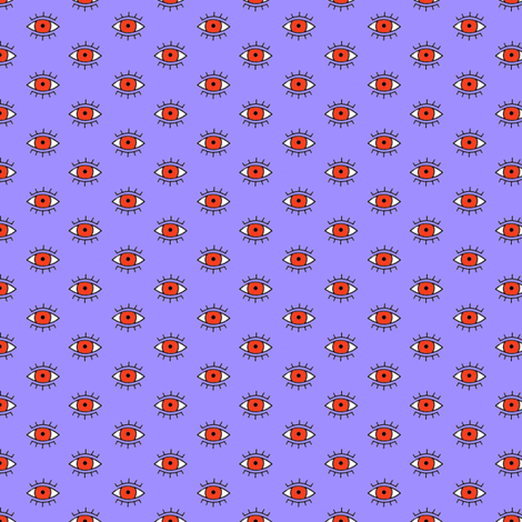 The Evil Eye fabric by veesanchez on Spoonflower - custom fabric