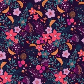 Winter Flowers - poinsettia