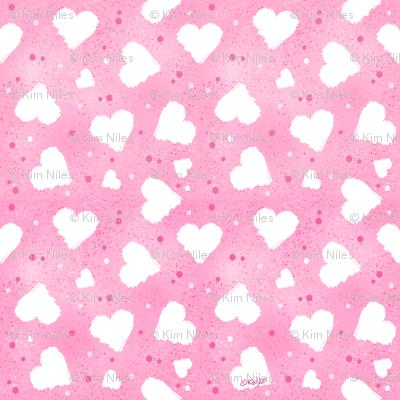 KiniArt Hearts & Confetti