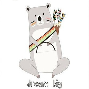 dream big indian bear