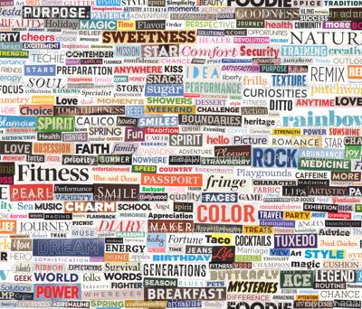 Ransom Note (Full-Color Nouns) || magazine cut paper ...