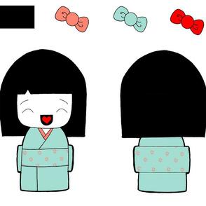 kokeshi-plush
