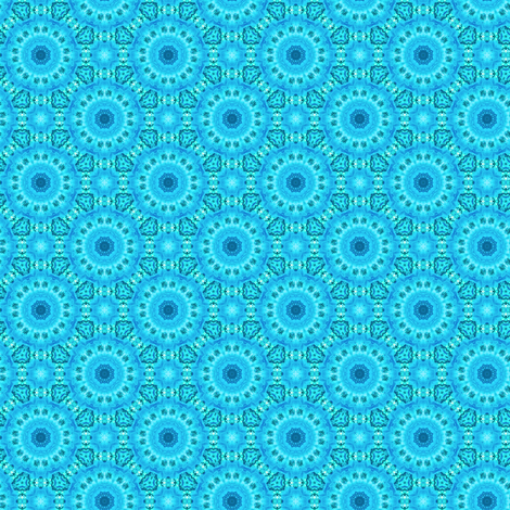 Blue Rose fabric by whimsydesigns on Spoonflower - custom fabric