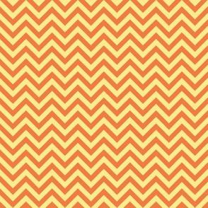 chevron - orange