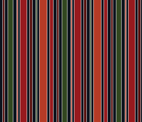 Navy Stripe fabric by anniecdesigns on Spoonflower - custom fabric