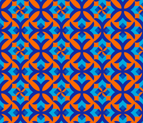 Decorative seamless patterns with geometric ornament fabric by eugene777 on Spoonflower - custom fabric