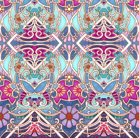 Airy Aerie fabric by edsel2084 on Spoonflower - custom fabric