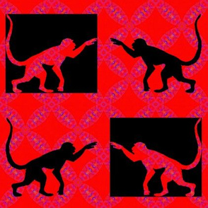 The Year of The Monkey - Checkmate Checkerboard