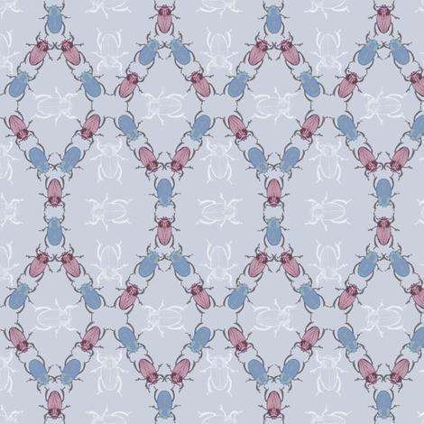 Beetle Mania fabric by arwenartanddesign on Spoonflower - custom fabric
