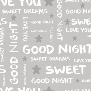 Love You • Good Night • Sweet Dreams