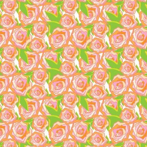 Peach Rose Floral_Miss Chiff Designs