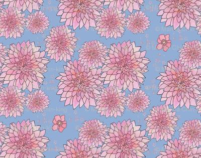 Floral No 1 Dahlias
