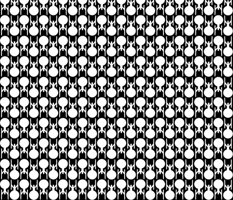 Small Enterprise In My Two-Toned Eyes  fabric by sharksvspenguins on Spoonflower - custom fabric
