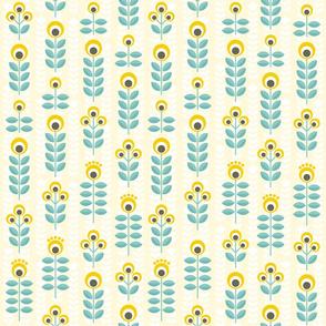 Scandinavian summer in yellow