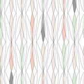 willow - (gray, cream, cucumber & peach)
