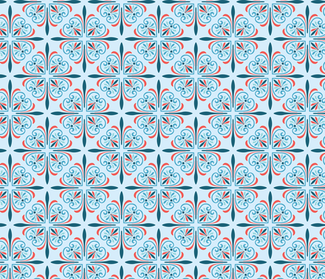 Alexandria fabric by raymondwarenyc on Spoonflower - custom fabric