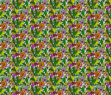 Floral 1 fabric by desiloopbyssk on Spoonflower - custom fabric