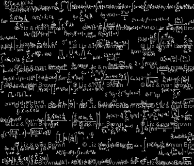 Math equations on black wallpaper thin line textiles for Chemistry reaction calculator fort de france