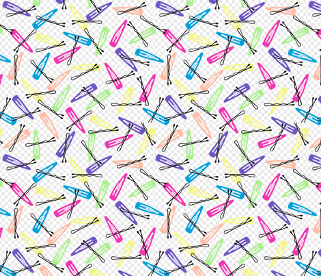 80s_snap_clips fabric by rikkandesigns on Spoonflower - custom fabric