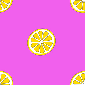 Pink & Lemons
