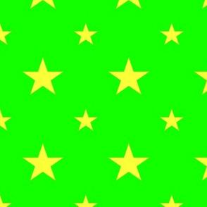 Green & Stars