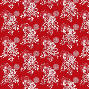 Abundant Beauty / Red