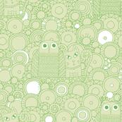 Nursery Rhyme (soft green)