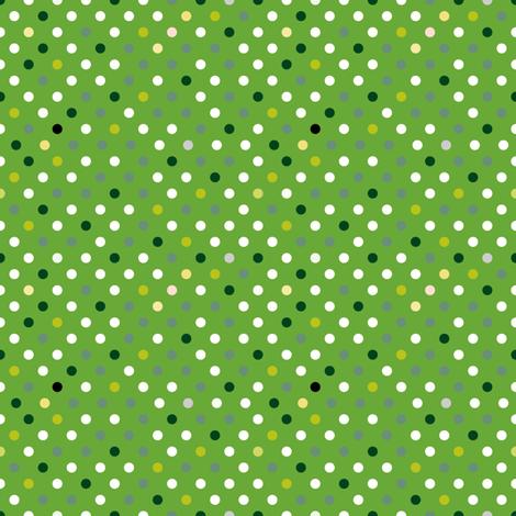 oap_pea_green_multi_spots-01 fabric by seesawboomerang on Spoonflower - custom fabric