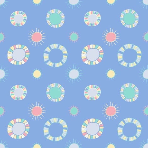 art_spot_soft_blue-01 fabric by seesawboomerang on Spoonflower - custom fabric