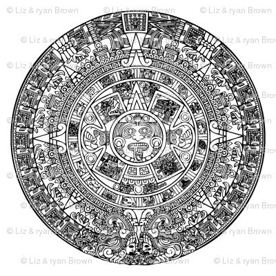 "Aztec Calendar - Large (4"")"