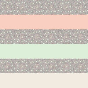 Many Hearts Stripes (horizontal)
